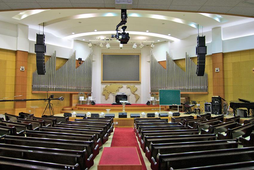 教堂音响工程