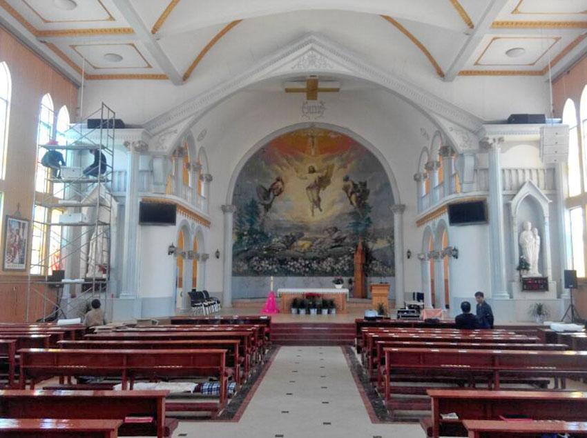 教堂音响工程方案